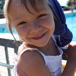 Zoé, cancer de l'enfant